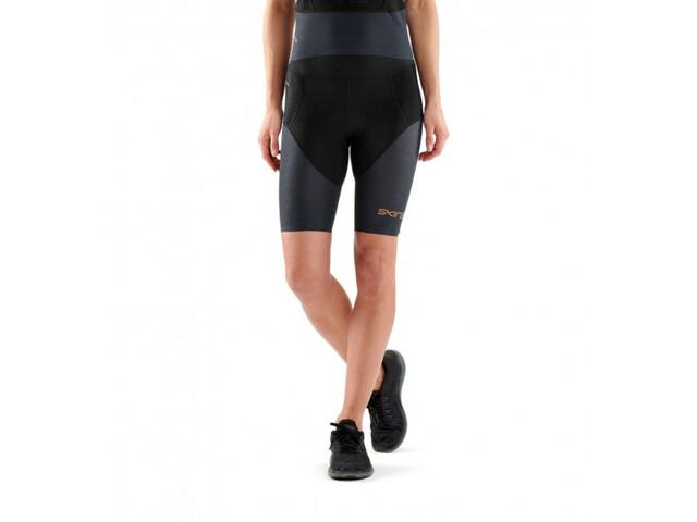 Skins DNAmic Triathlon Løbeshorts Damer blå/sort | Tri og enkeltstart